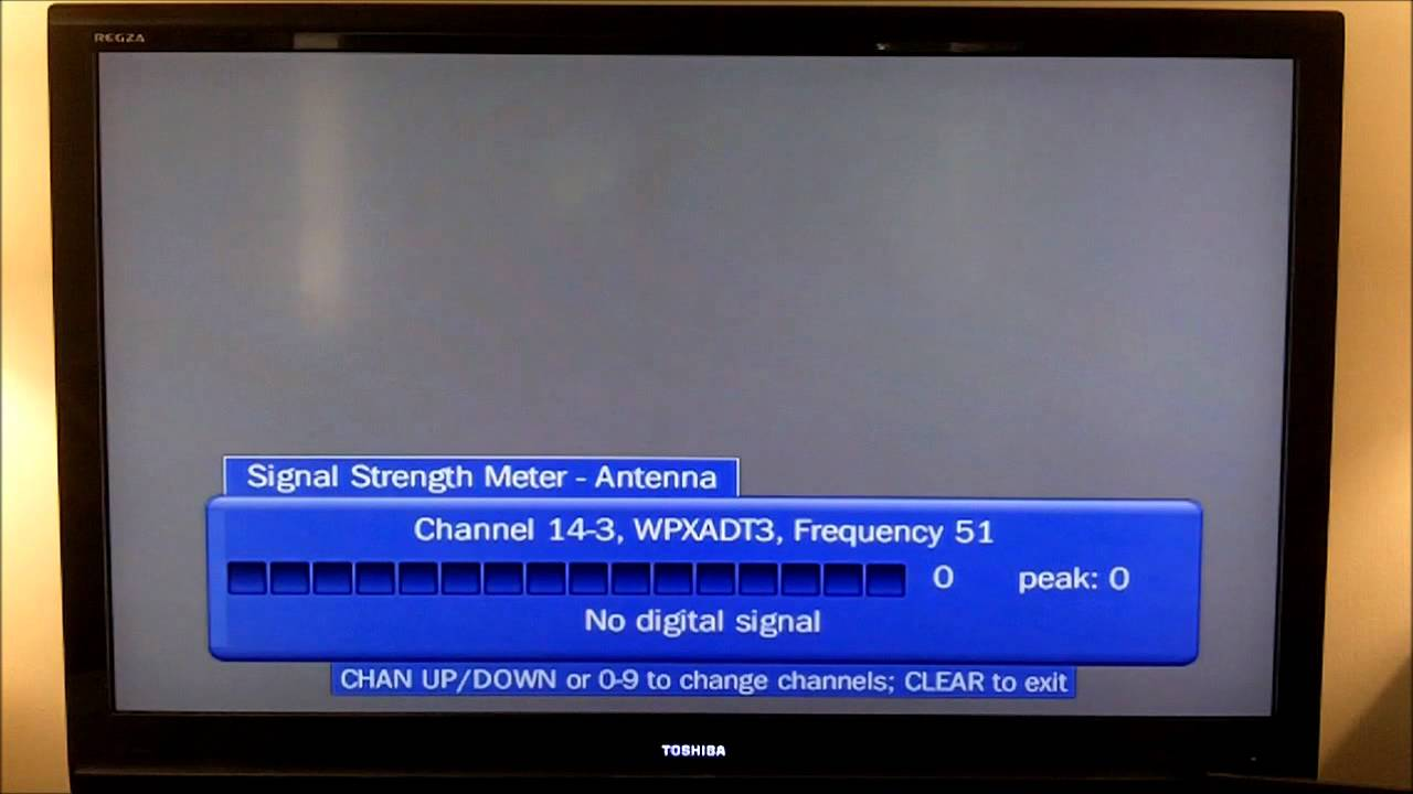 Testing an Over-The-Air (OTA) Antenna with a TiVo HD
