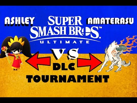 ULTIMATE SMASH BROS DLC TOURNAMENT EP.8 (Amaterasu vs Ashley)