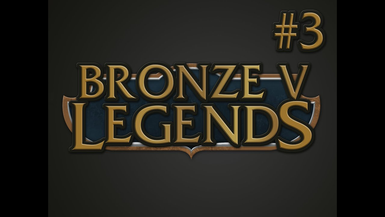 how to get out of bronze 5 league of legends