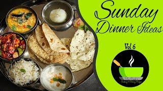 Indian Dinner Routine | Sunday Dinner Routine Ideas | Indian Dinner Preparation