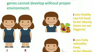 INFLUENCE of HEREDITY and ENVIRONMENT on CHILD DEVELOPMENT