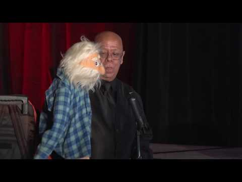 Uncle Charlie and Jerry Perform their Ventriloquist Act at Christmas in the City