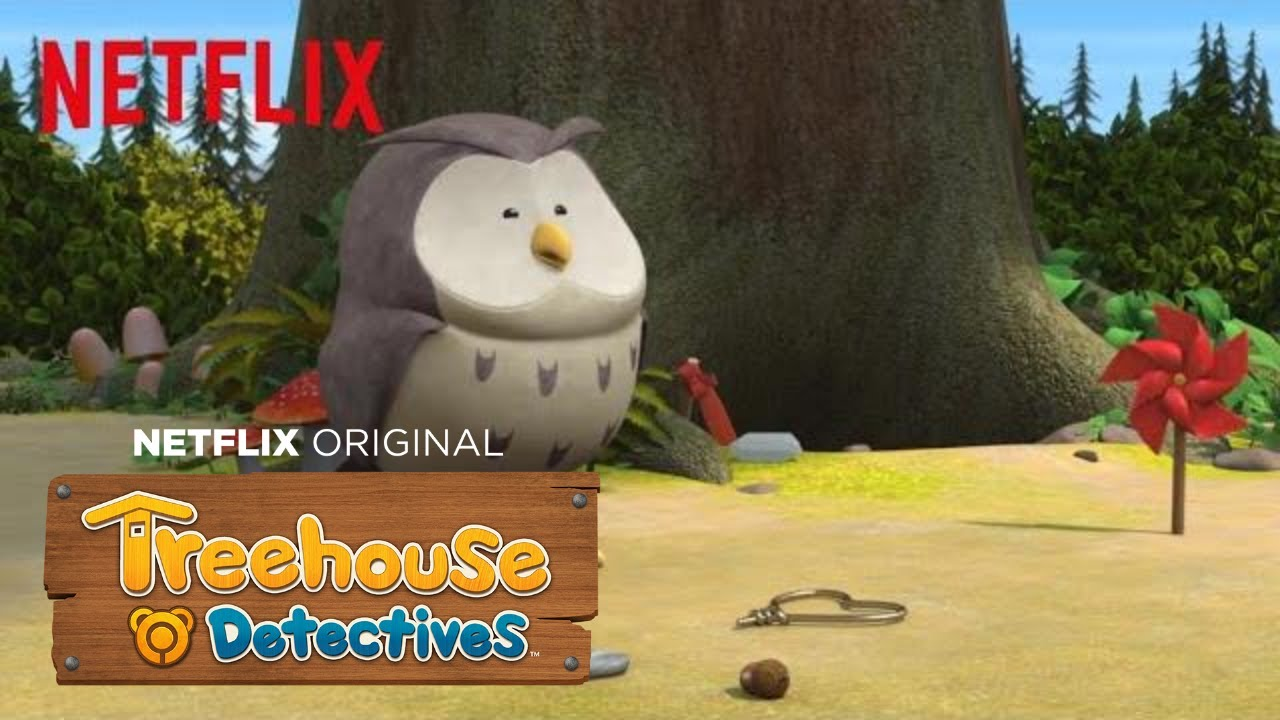 Treasure Hunting for the Owl | Treehouse Detectives | Netflix Jr