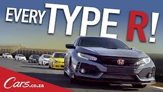 Every Type R On One Track - Honda Civic Type R Special