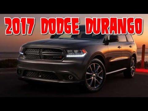 2017 dodge durango redesign interior and exterior youtube - Dodge durango 2017 interior pictures ...