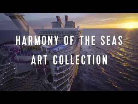 Harmony of the Seas Artwork: 3,000 Pieces | Royal Caribbean