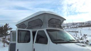 colorado camper van noe e350 ford pop top