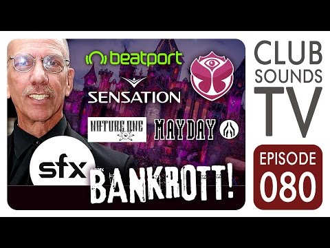 ★ Das war's: SFX ist bankrott! - Zukunft von Tomorrowland, Beatport, Nature One & Co. ungewiss ★