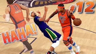 4 ANKLE BREAKERS On One Guy! - NBA 2K16 MyCareer #12