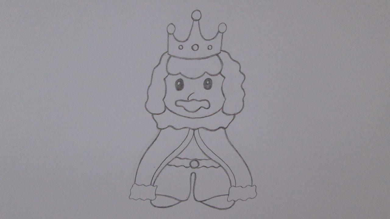 Cómo Dibujar Un Rey