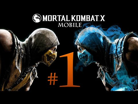 Mortal Kombat X Gameplay Walkthrough Part 1 (Mobile) [HD iOS] Kano Boss Fight - No Commentary
