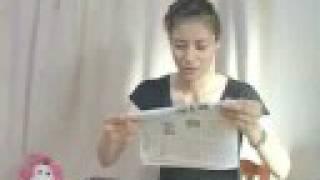2008年8月15日、終戦記念日の新聞をハヤギリ! メダルがいっぱいのオリ...
