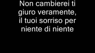 Nada de Nada- Lyrics en italiano. Marco di Mauro-Niente di niente
