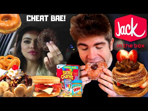 THE EASTER 15,000 CALORIE CHEAT DAY PART 2: ICE CREAM, CEREAL, PIE, LATE NIGHT DONUTS & BURGERS