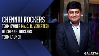 Chennai Rockers Team Owner Mr.C R Venkatesh At Chennai Rockers Team Launch