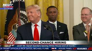 LIFE AFTER PRISON: President Trump Hosts Second Chance Hiring Event