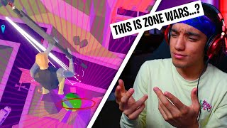 I Actually Tried Roblox Strucid ZONE WARS