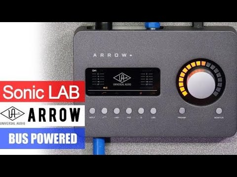 SonicLAB: UA Arrow - Bus Powered Thunderbolt Audio Interface With DSP