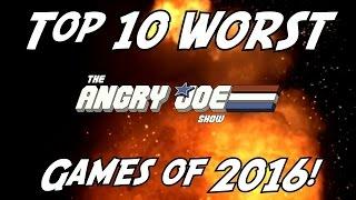 Топ 10 ХУДШИХ Игр 2016 года!