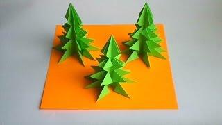 оригами елка на новый год, оригами елочка // paper origami christmas tree(оригами елка на новый год, оригами елочка, как сделать из бумаги оригами елка // paper origami christmas tree, origami tree,..., 2015-12-10T13:45:44.000Z)