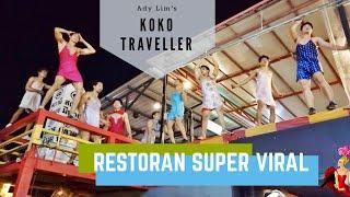 Kok Viral? ternyata shownya yang bikin restoran ini viral dan banyak dikunjungi wisatawan.