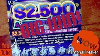 Ny lottery 2,500 a week for life big win