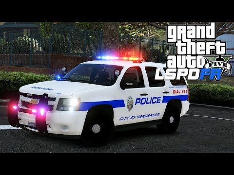 GTA 5 - LSPDFR - Ep 92 - Henderson Nevada Police!