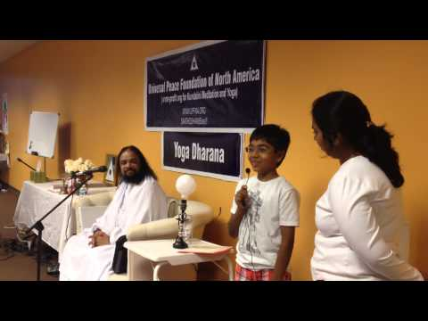 Yoga Dharana experience sharing by budding Yogis