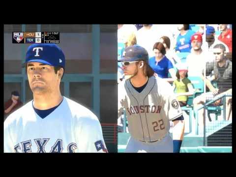 MLB The Show 17 | Astros vs. Rangers | Globe Life Park In Arlington