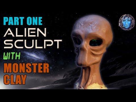 Part One   Alien Sculpt   Building & Sculpting The Head