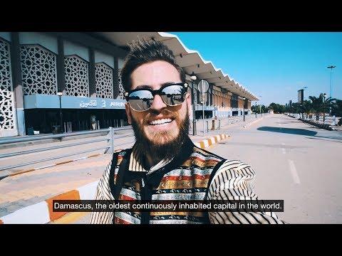 The Other Face of Damascus الوجه الآخر من دمشق - رحلتي إلى سوريا 2018