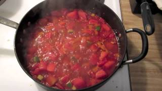 Watermelon, Cucmber,cayenne Salad