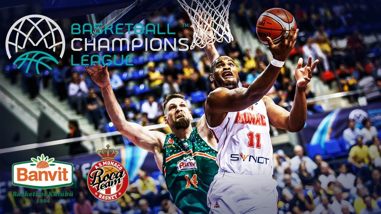 Banvit v AS Monaco | Re-Live Classic Full Game | Semi-Final 2016-17