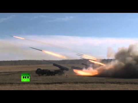 Российские военные отработали