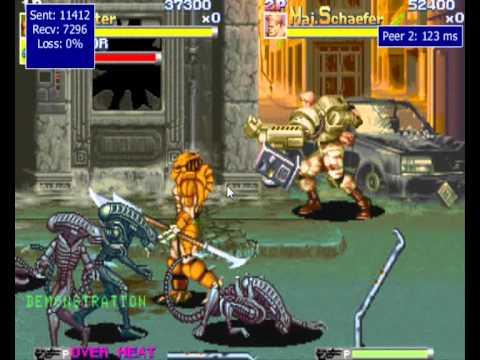 MameHUB Aliens Vs Predator Arcade 2P Online