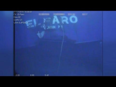 Video shows chilling wreckage of sunken cargo ship El Faro