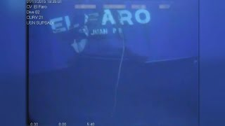 Video shows chilling wreckage of sunken cargo ship El Faro