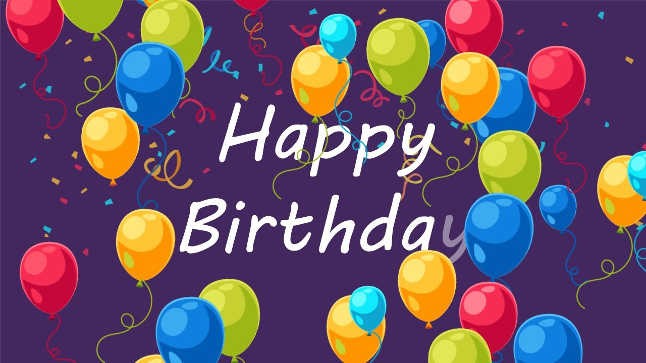 Happy Birthday Free After Effects Template
