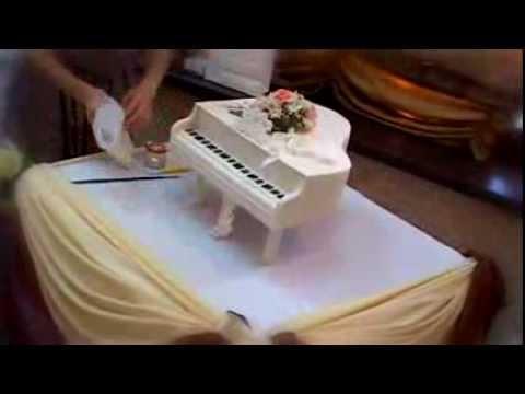 Свадебный торт 'Белый
