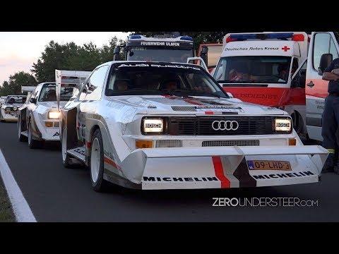 Eifel Rallye Festival 2017 | Flames 🔥 , sideways action & crash