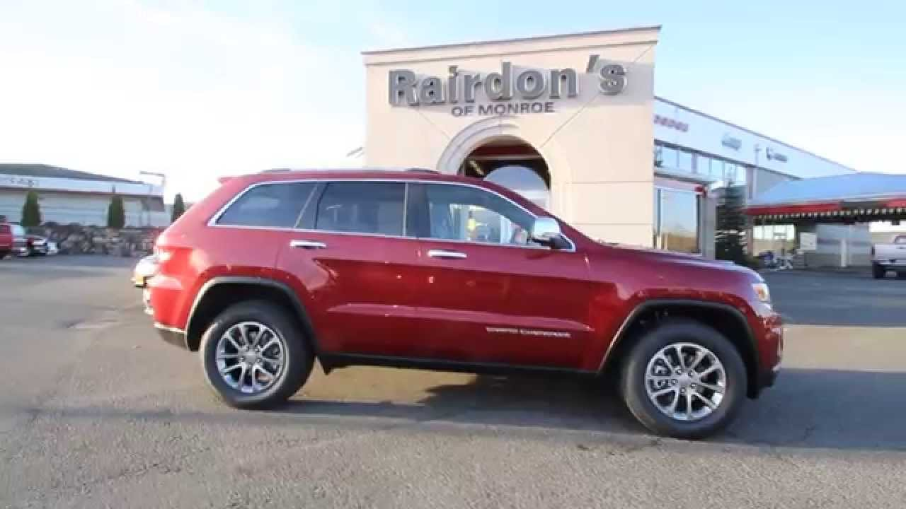 2015 Jeep Grand Cherokee Limited | Deep Cherry Red | FC684241 | Everett |  Snohomish