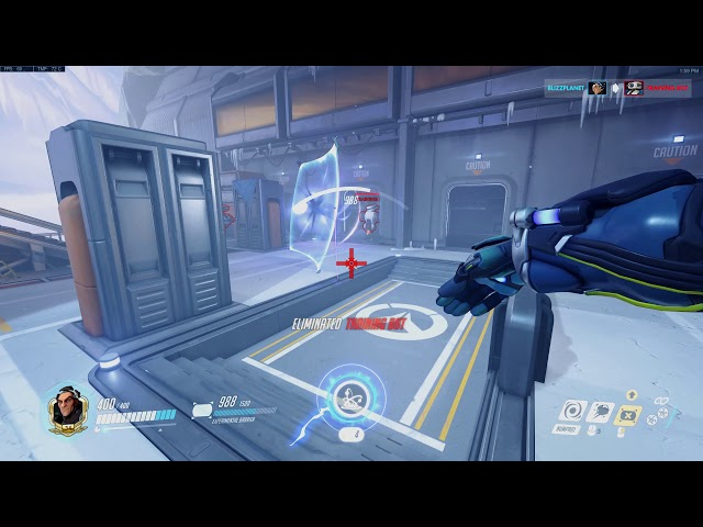Overwatch PTR 1.39 Sigma Abilities and Ultimate
