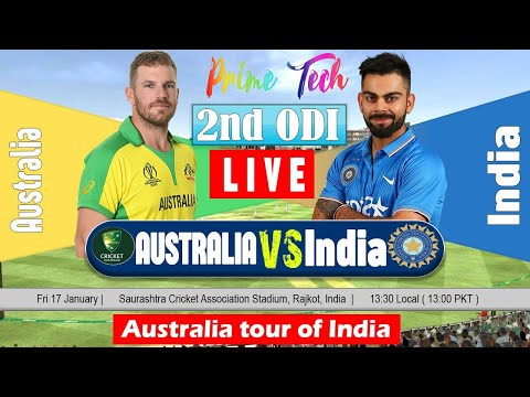 India V Australia Live Streaming || Live Online Cricket Match Today || Ind VS AUS- 2nd ODI