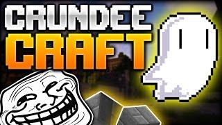 Minecraft: ONE-SHOT GHOST TROLL | CRUNDEE CRAFT