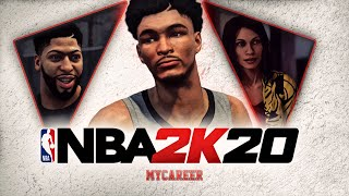 NBA 2K20 MyCareer #2 - Traveling HOME To 1v1 ANTHONY DAVIS! ATTRIBUTE & ANIMATIONS UPDATE!
