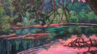 New River Paintings by Award Winning Artist Kendall F. Kessler and Appearance on Hour of Joy