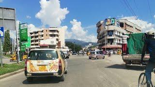 Quartier Asiatique Bujumbura Burundi Africa | Drive around Asiatique Bujumbura Town Burundi, Africa