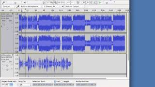 How to amplify sound on Audacity