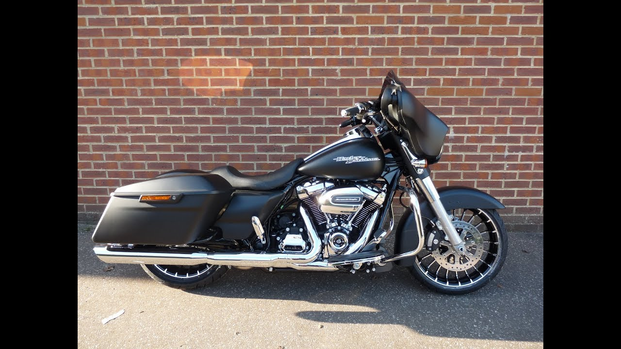 Harley Davidson Street Glide With  Inch Wheel