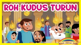 PENTAKOSTA + Film Animasi Sekolah Minggu + komik alkitab anak kristen gereja online streaming paskah